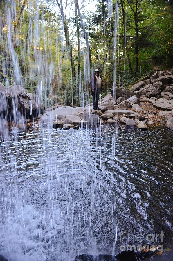 Ray Through The Falls Photograph