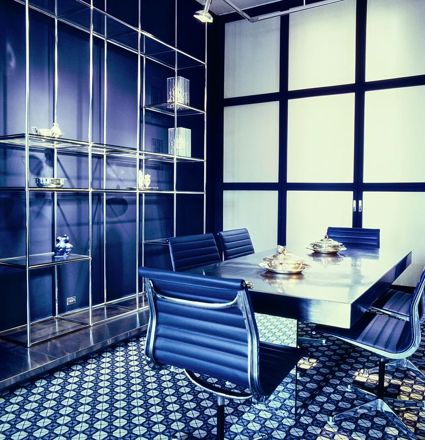 Raymonde Zehnackers Dining Room Photograph by Horst P. Horst