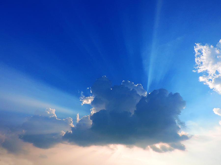 Crepuscular Rays Photograph - Rays by Ayan Mukherjee