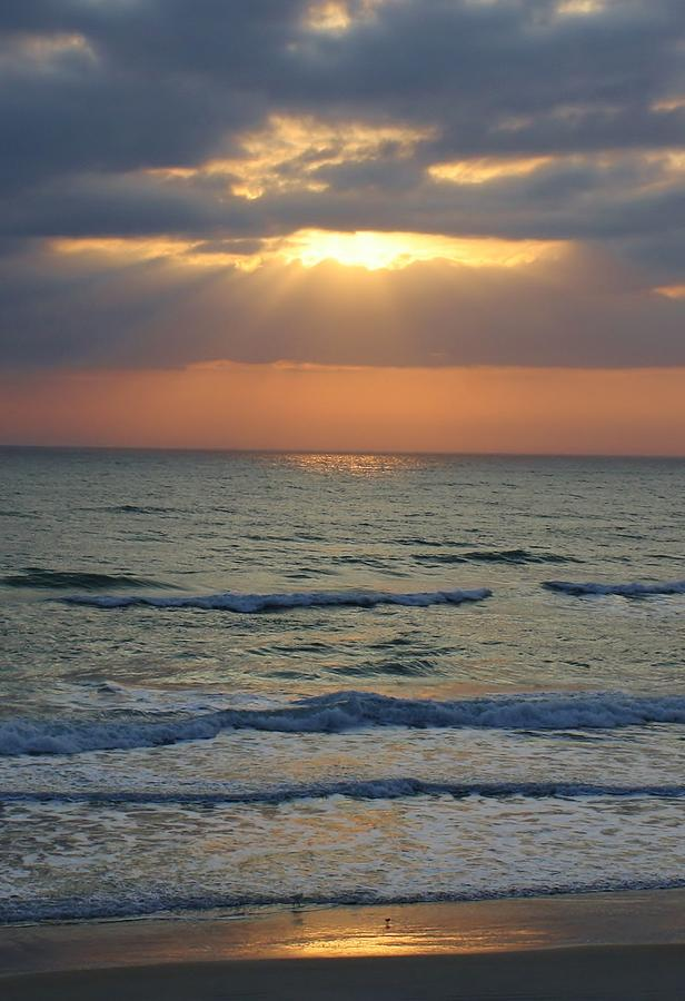 Ocean Photograph - Rays From Above by Bruce Bley