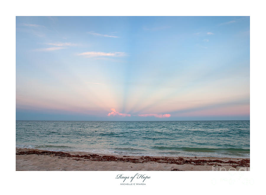 Rays Of Hope Photograph - Rays Of Hope by Michelle Wiarda