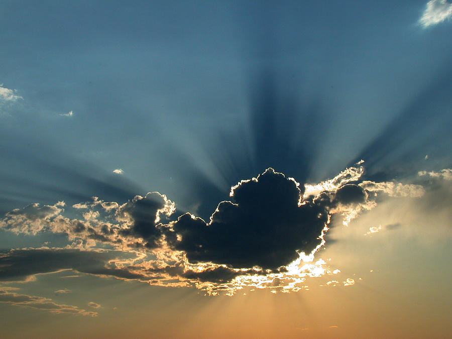 Rays Of Light Photograph by Shane Bechler