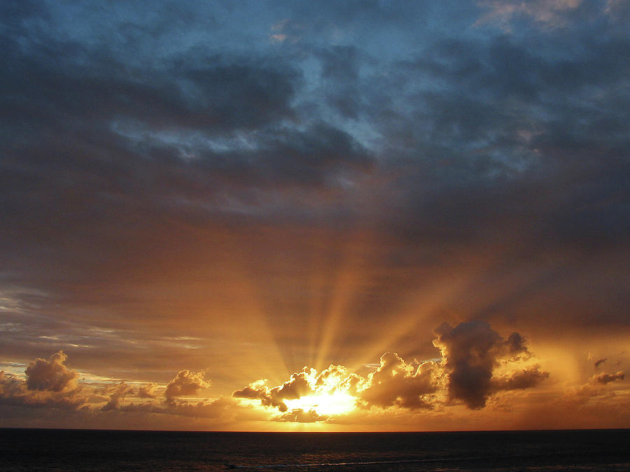 Rays Of The Sun At Dawn Susan Savad on Large Metal Wall Art