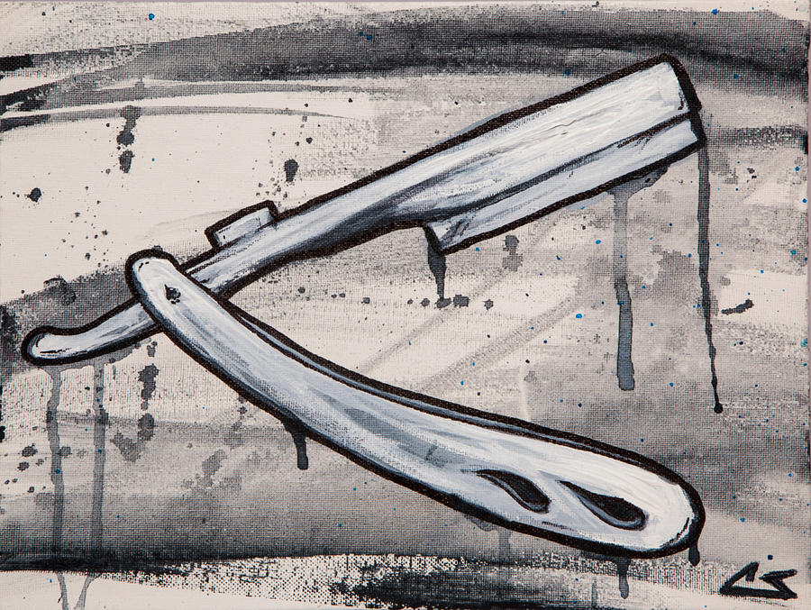 Razor Painting - Razor Finish by The Styles Gallery