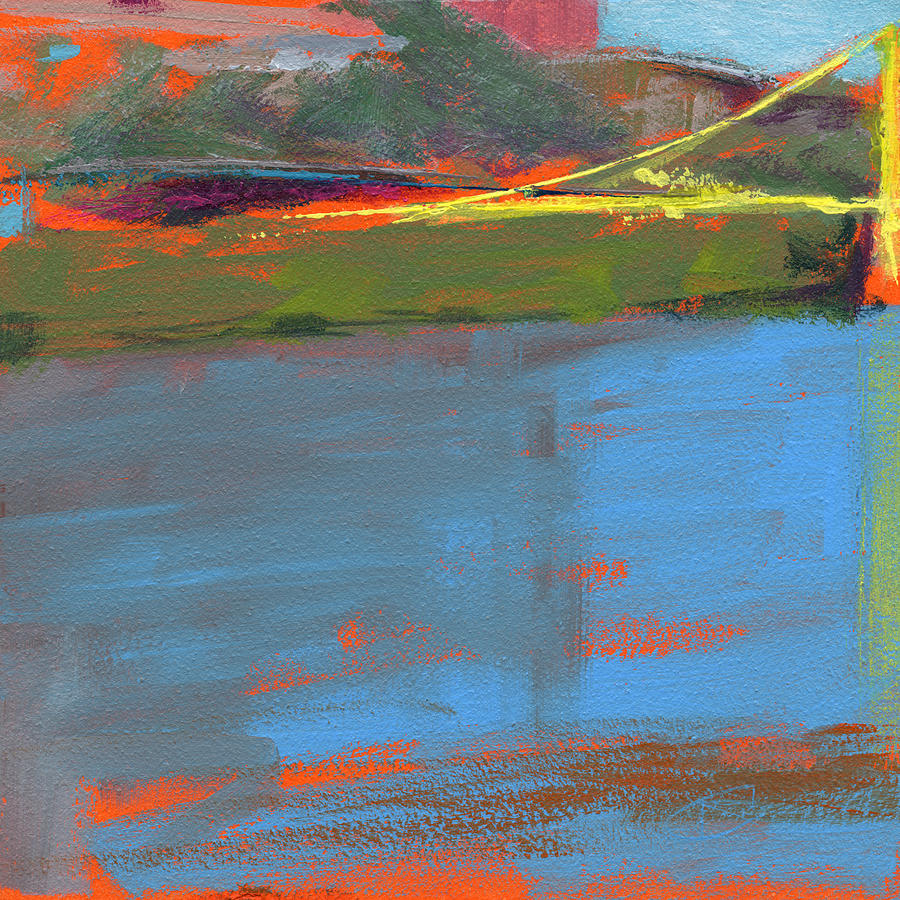 Bridge Painting - Untitled by Chris N Rohrbach
