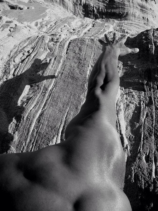 Climb Digital Art - Reach For It  by Natalya Karavay