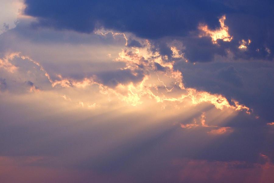 Sky Photograph - Reach for the Sky 2 by Mike McGlothlen