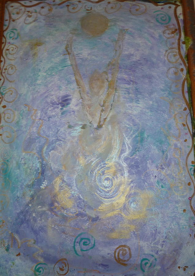 Oil Painting - Reaching Out by Phoenix Simpson