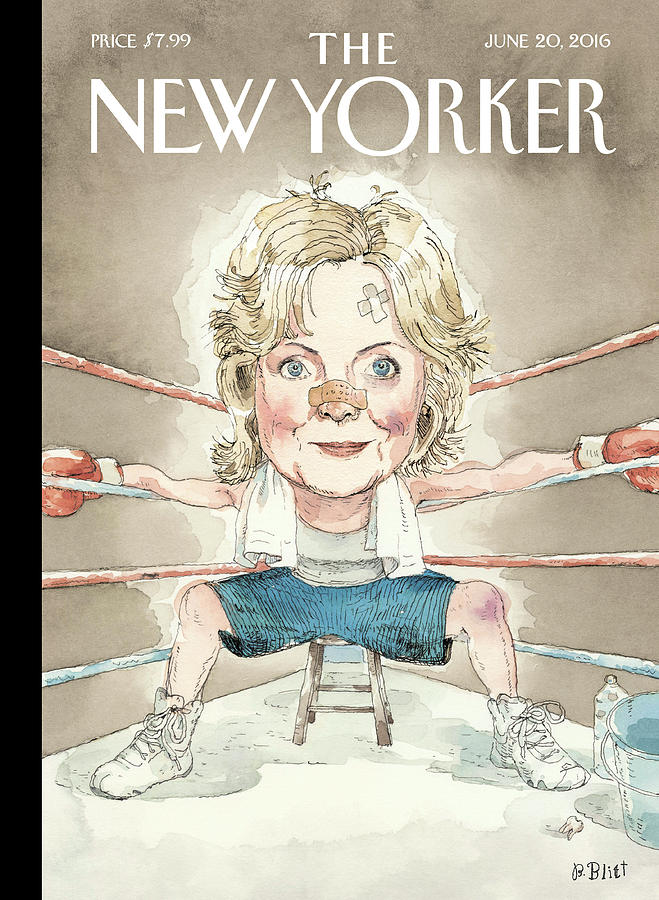 Ready For A Fight Painting by Barry Blitt