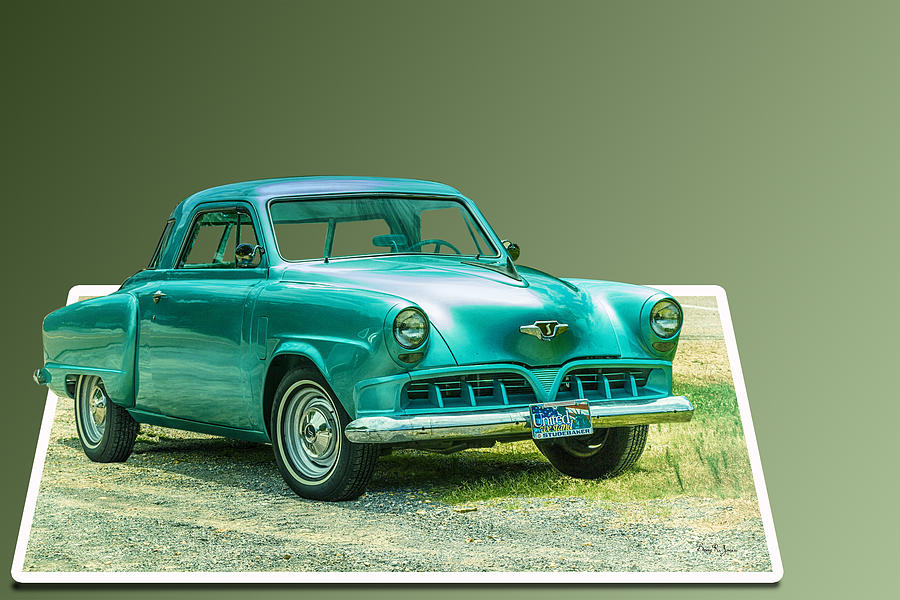 1952 Studebaker Photograph - Classic - Car - Studebaker - Ready For A Spin? by Barry Jones