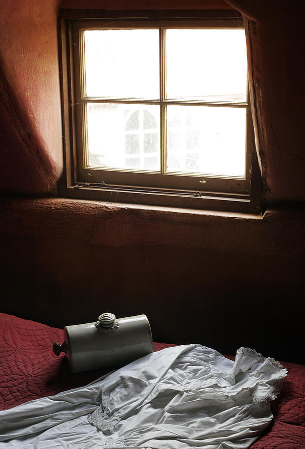 Window Photograph - Ready For Bed by Stephen Norris