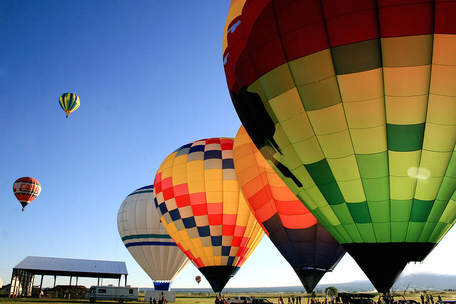 Balloons Photograph - Ready For Take-off by Becky Maness