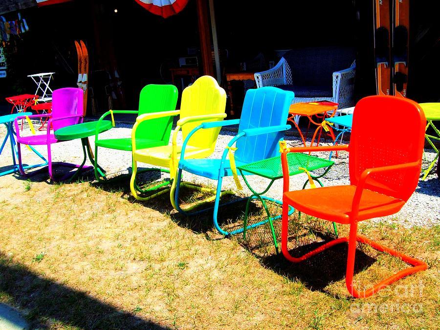 Michigan Photograph - Ready - Set - Sit by MJ Olsen