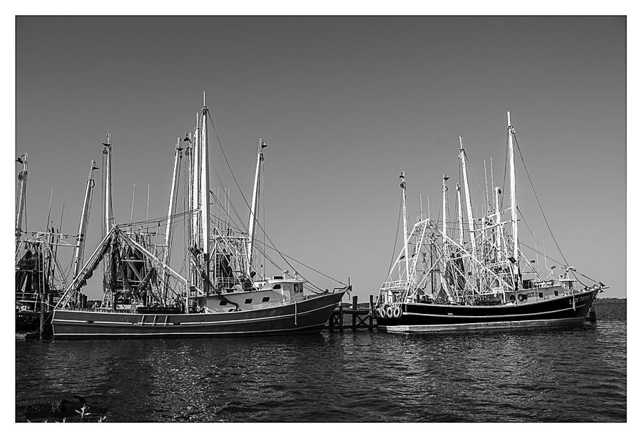 Shrimp Boats Photograph - Ready To Go Out by Barry Jones