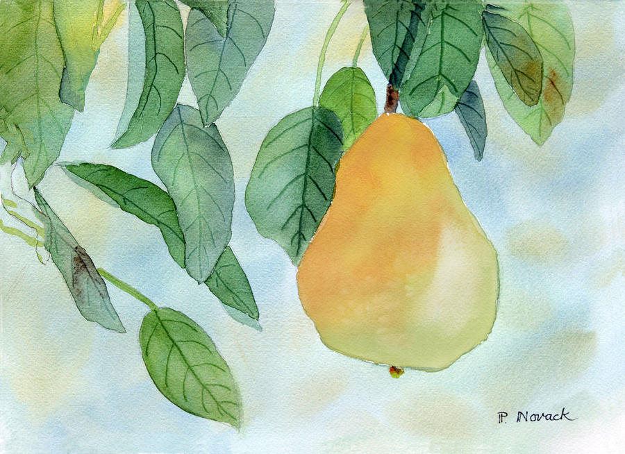 Fruit Painting - Ready To Pick by Patricia Novack