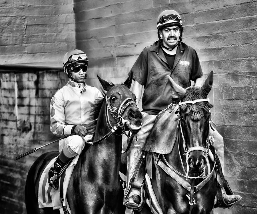 Horses Photograph - Ready To Race by Camille Lopez