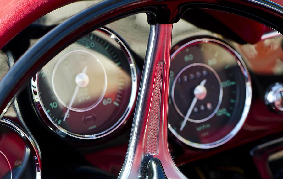 Porsche Photograph - Ready To Roll - Vintage Porsche Car by Sharon Cummings by Sharon Cummings