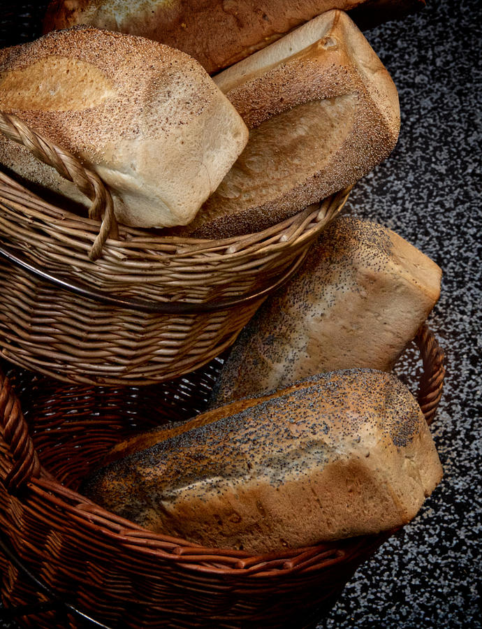 Bread Photograph - Real Bread by Odd Jeppesen