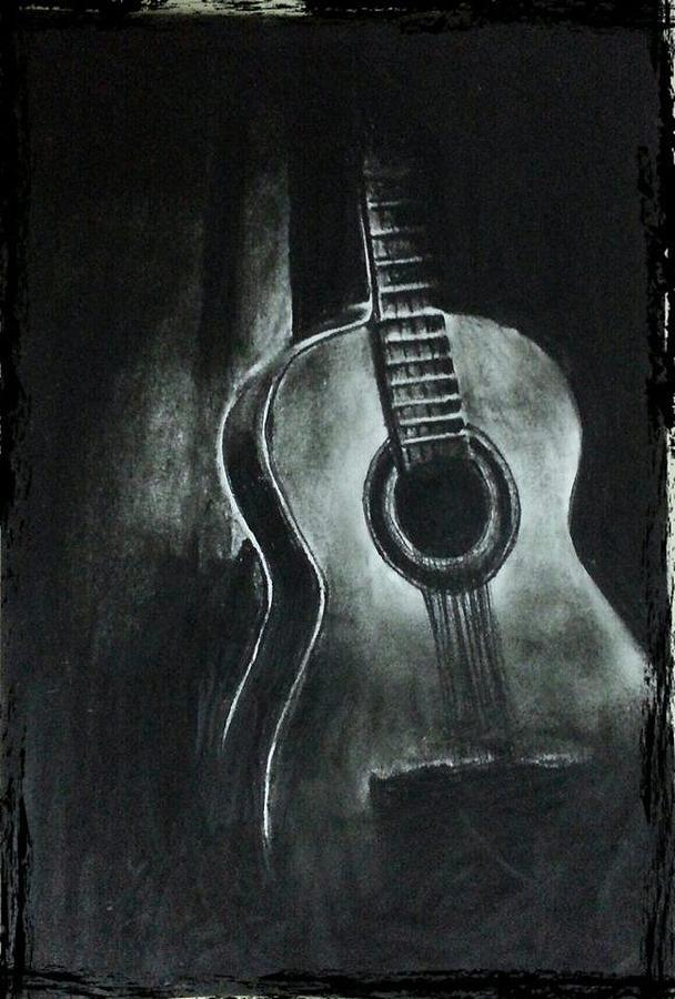 42 Easy Charcoal Drawing Techniques and Ideas to try |Charcoal Art Drawings Music