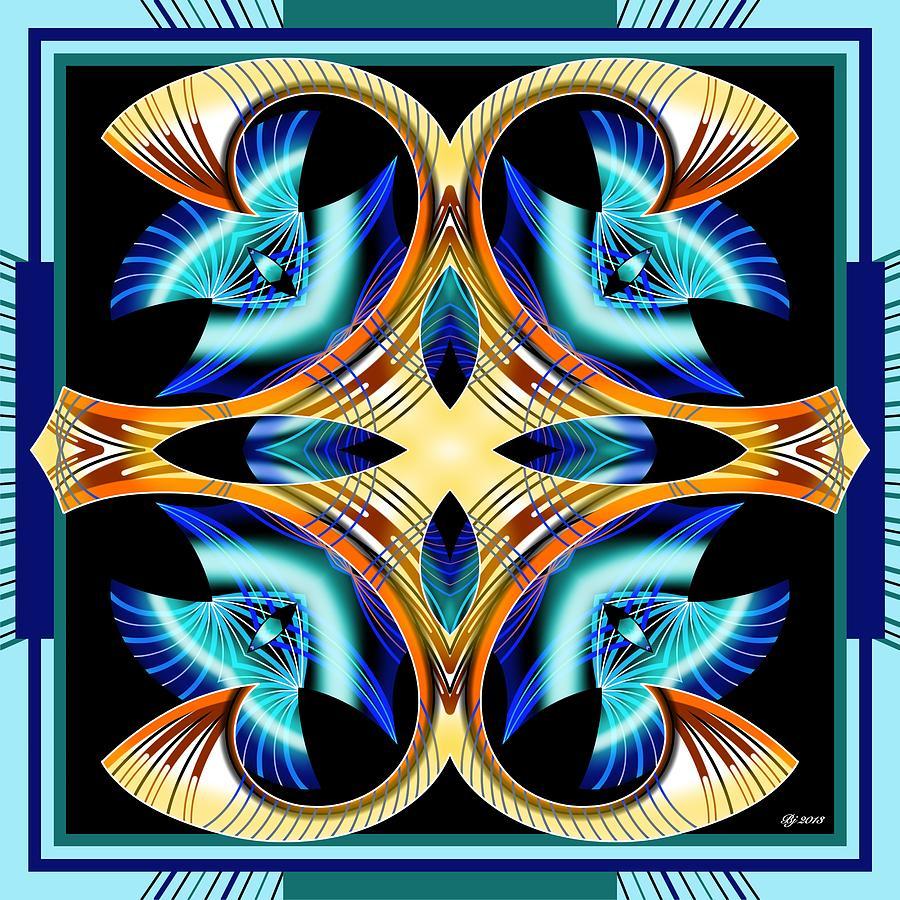 Abstract Digital Art - Realization Transformer 4 by Brian Johnson