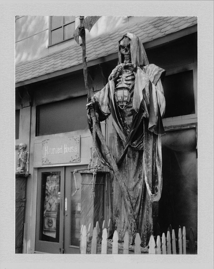 Reaper Photograph - Reaper by Brady D Hebert