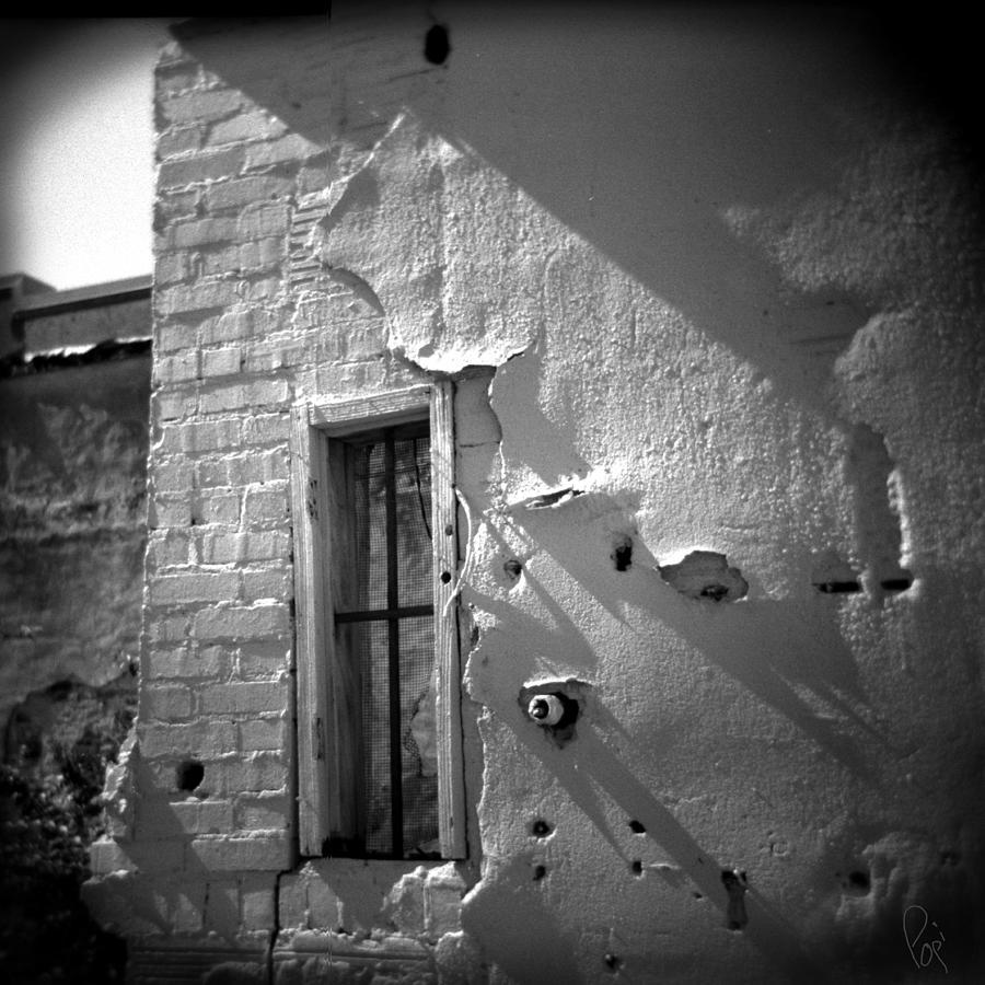Holga Photograph - Rear Window by Paul Anderson