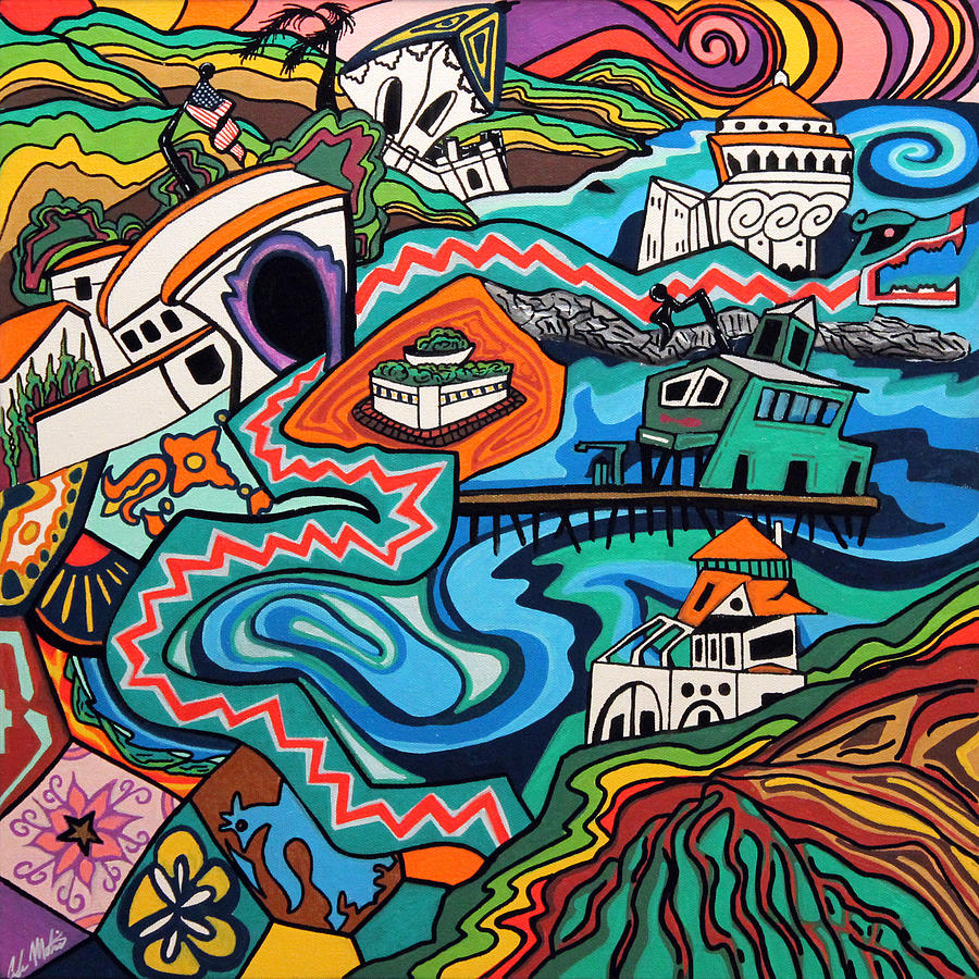Catalina Island Painting - Reasonable Doubt by Carlos Martinez
