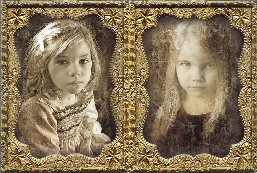 Daguerreotype Photograph - Rebecca And Sara by John Anderson