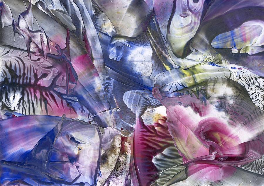 Abstract Painting - Rebirth by Cristina Handrabur