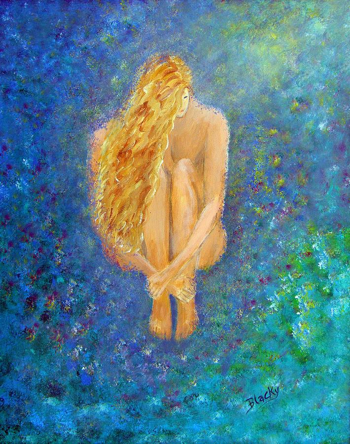 Modern Painting - Rebirth by Donna Blackhall