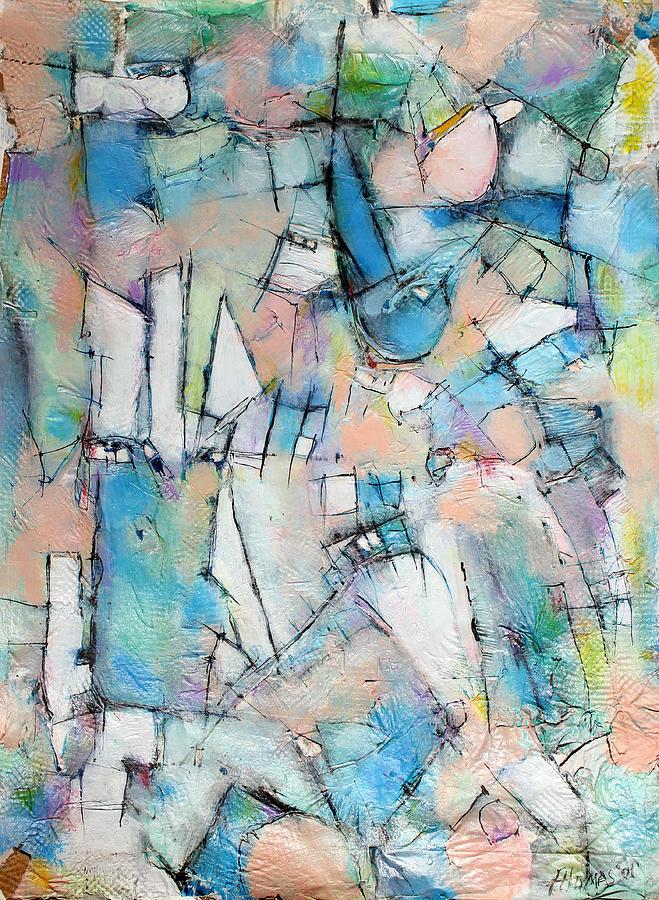 Abstract Painting Painting - Rebirth Of Wonder   by Hari Thomas
