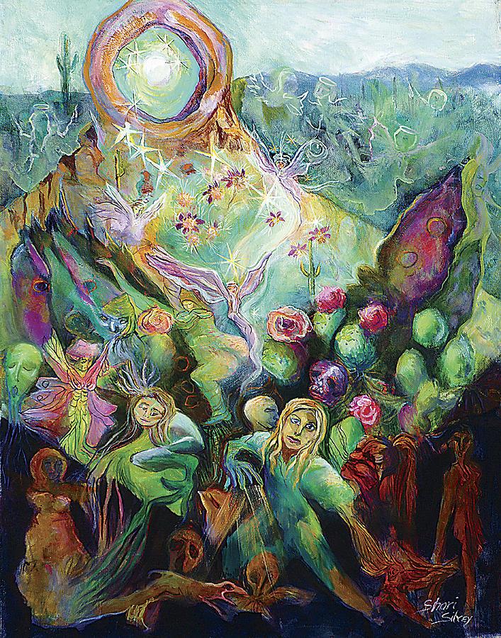 Rebirth Painting - Rebirth by Shari Silvey