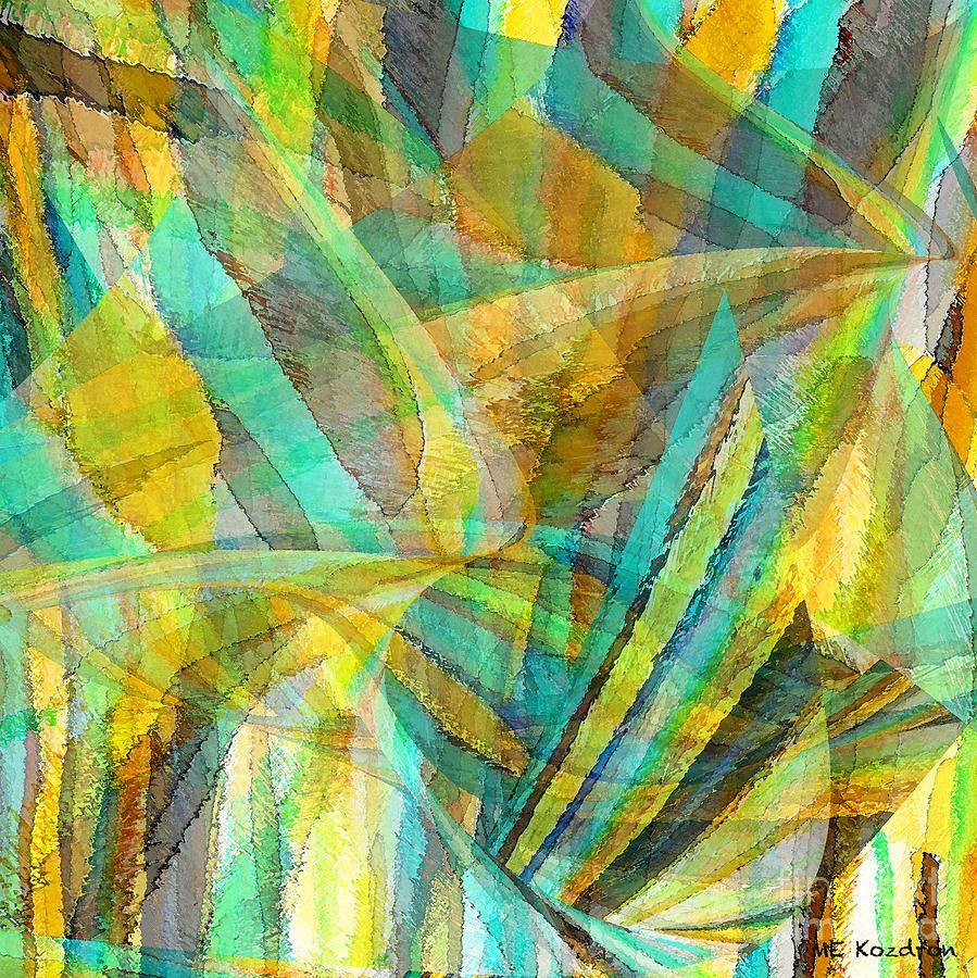 Wayward Digital Art - Recalcitrant by ME Kozdron