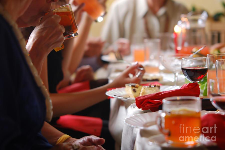 Banquet Photograph - Reception by Michal Bednarek