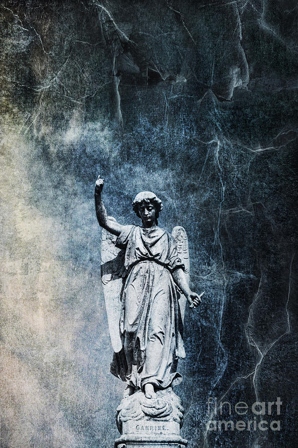 Cemetery Photograph - Reckoning Forces by Andrew Paranavitana