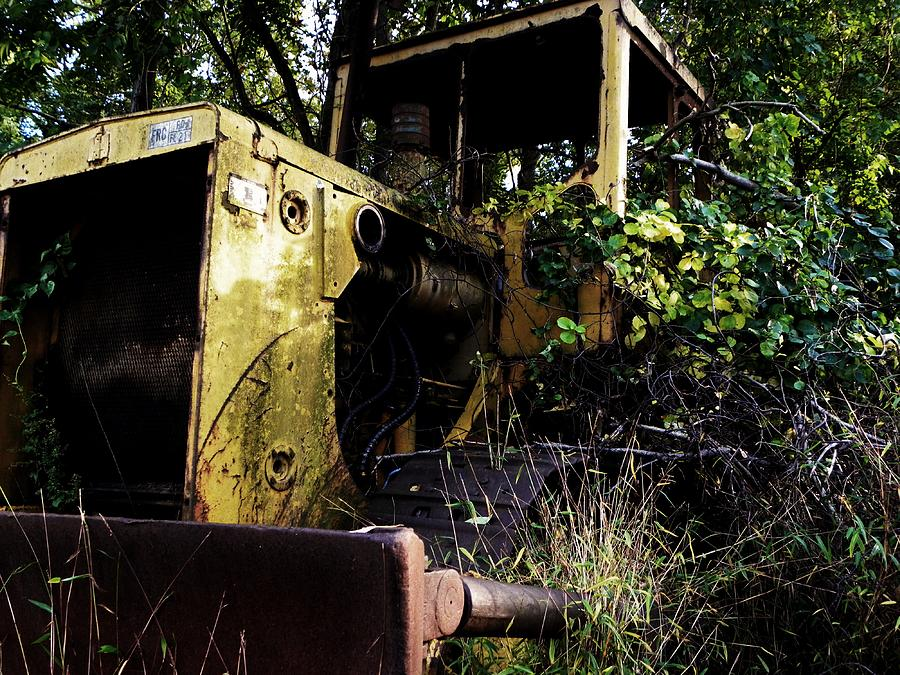 Bulldozer Photograph - Reclaim by Christian Rooney