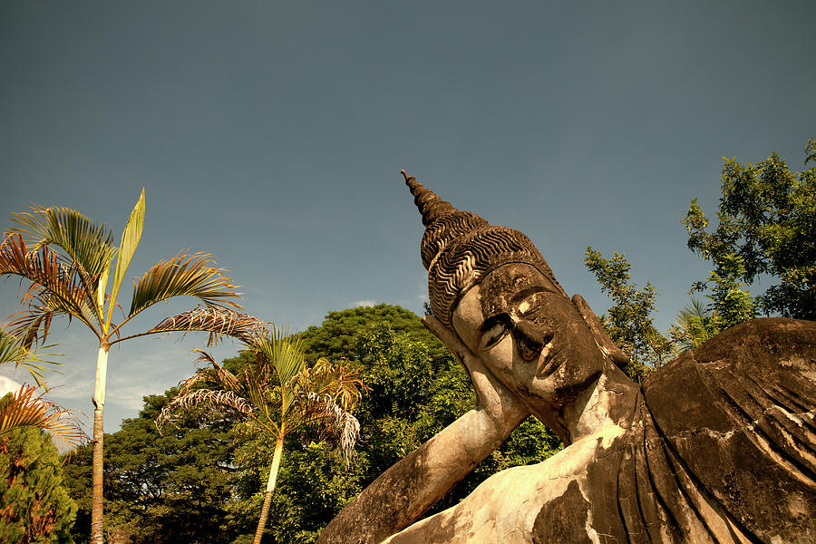 Reclining Buddha Photograph by Marcaux