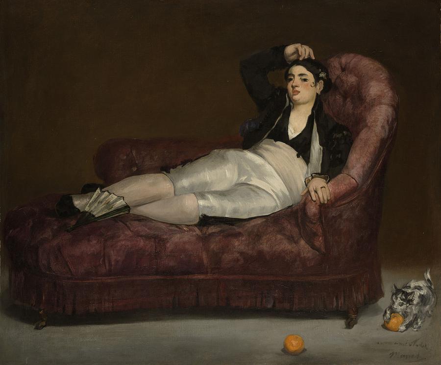 Amedeo Modigliani - Reclining Female Nude - Detail