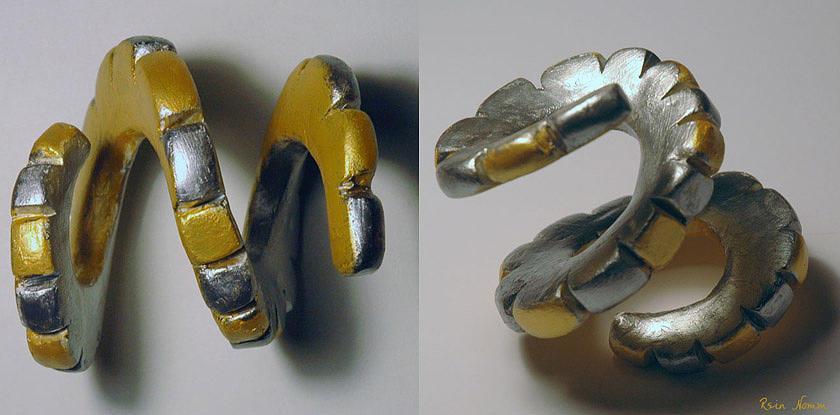 Sculpture - Recoil by Rein Nomm