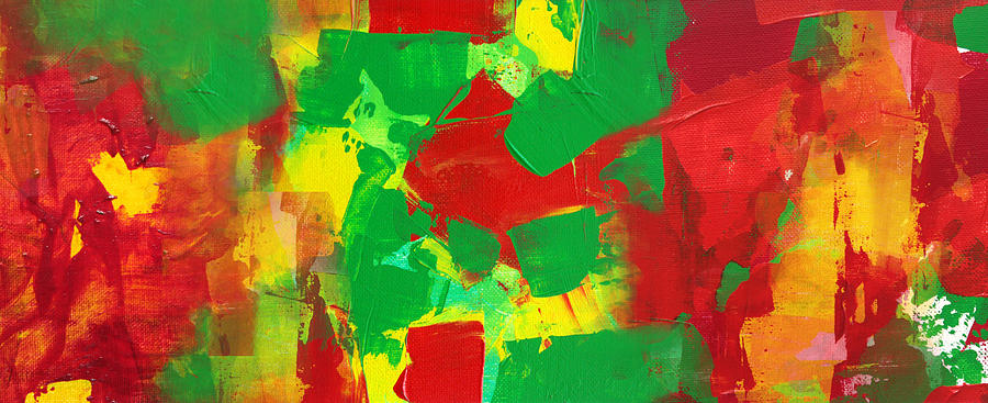 Abstract Painting - Recombinant Landscape 3 by Paul Ashby