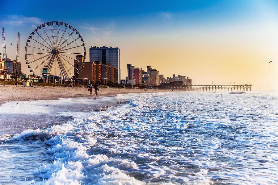 Beach Photograph - Recreation Beach Sunrise by Kirk Strickland