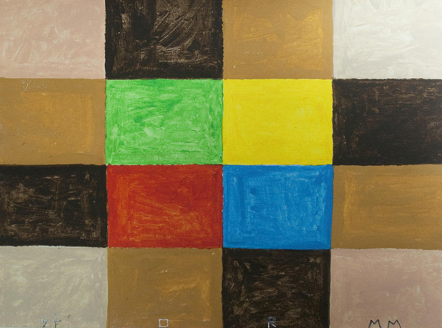 Rectangles Painting - Rectangles by Stormm Bradshaw