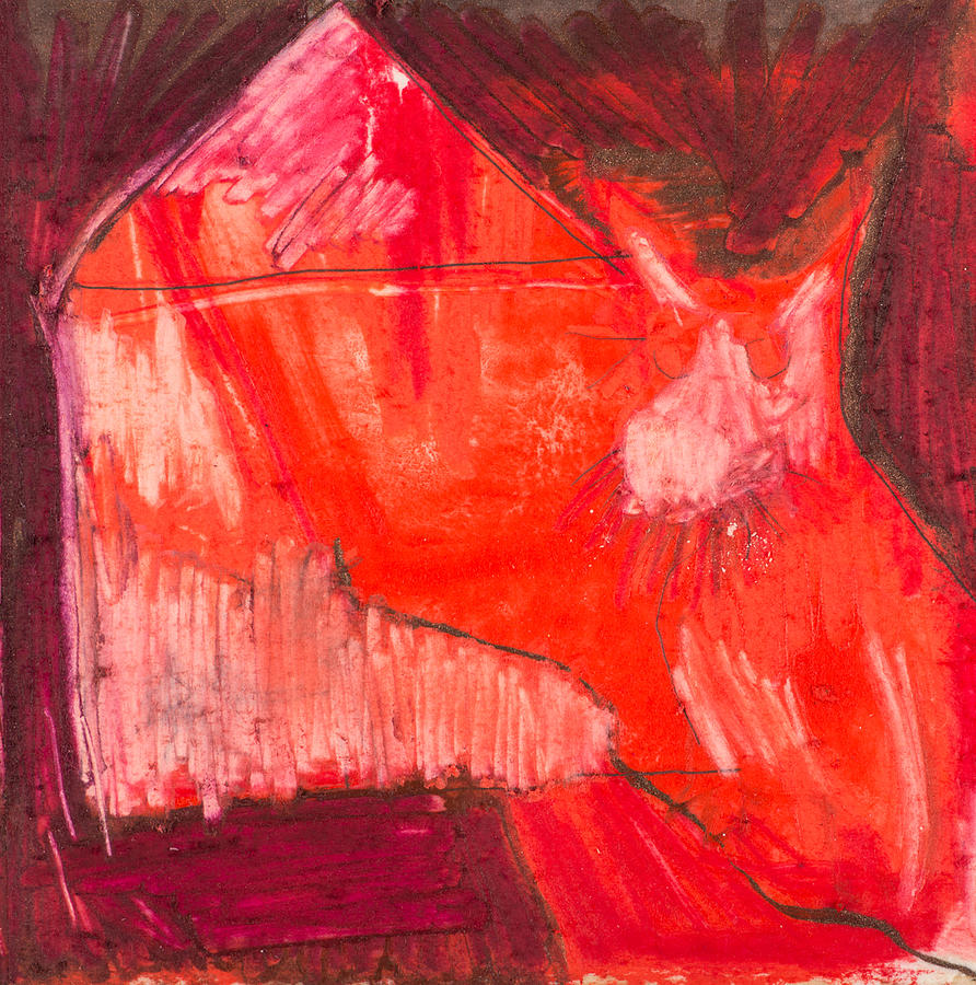 Mixed Media Mixed Media - Red. 1 by Marie Tosto