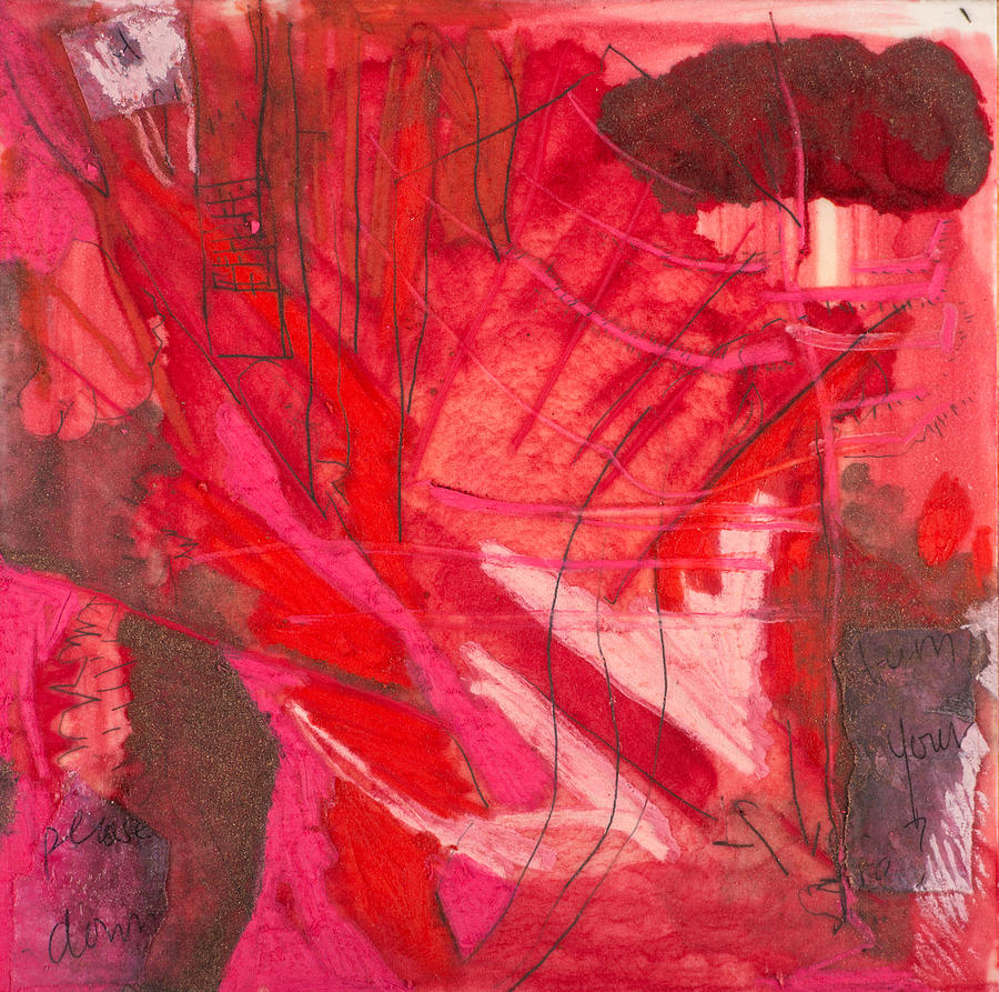 Mixed Media Mixed Media - Red. 3 by Marie Tosto