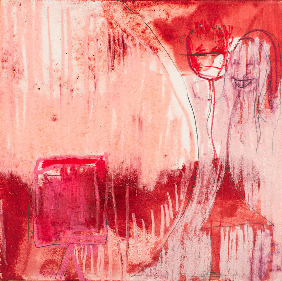 Mixed Media Mixed Media - Red. 4 by Marie Tosto