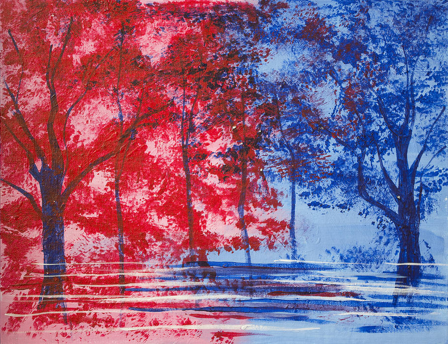 Red and Blue by Richard Fritz