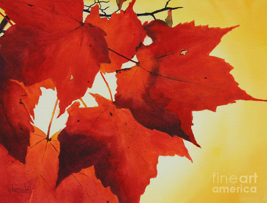 Red and Yellow by Glenyse Henschel