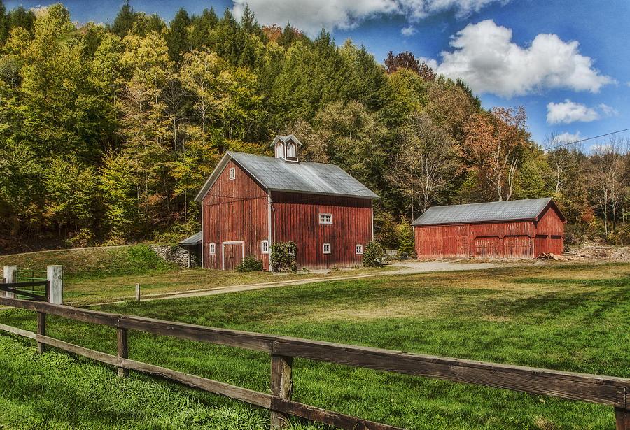 farm barn. Farm Photograph - Red Barn By Cathy Kovarik N