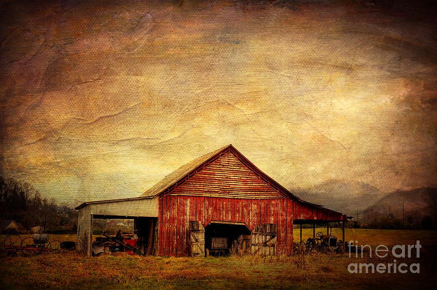Barn Photograph - Red Barn  by Joan McCool