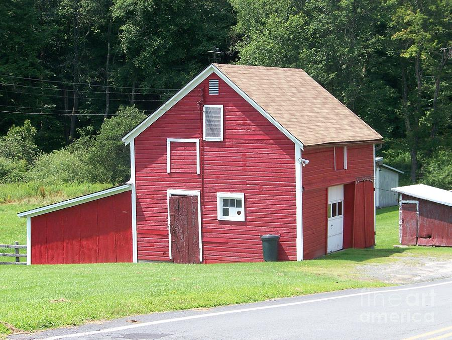 Red Barn Photograph - Red Barn by Kevin Croitz